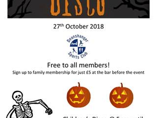Halloween @ Deanshanger Sports Club