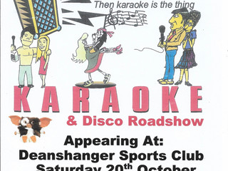 Karaoke & Disco Night