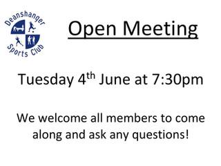 2019 Open Meeting