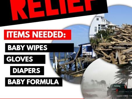 Hurricane Relief Help