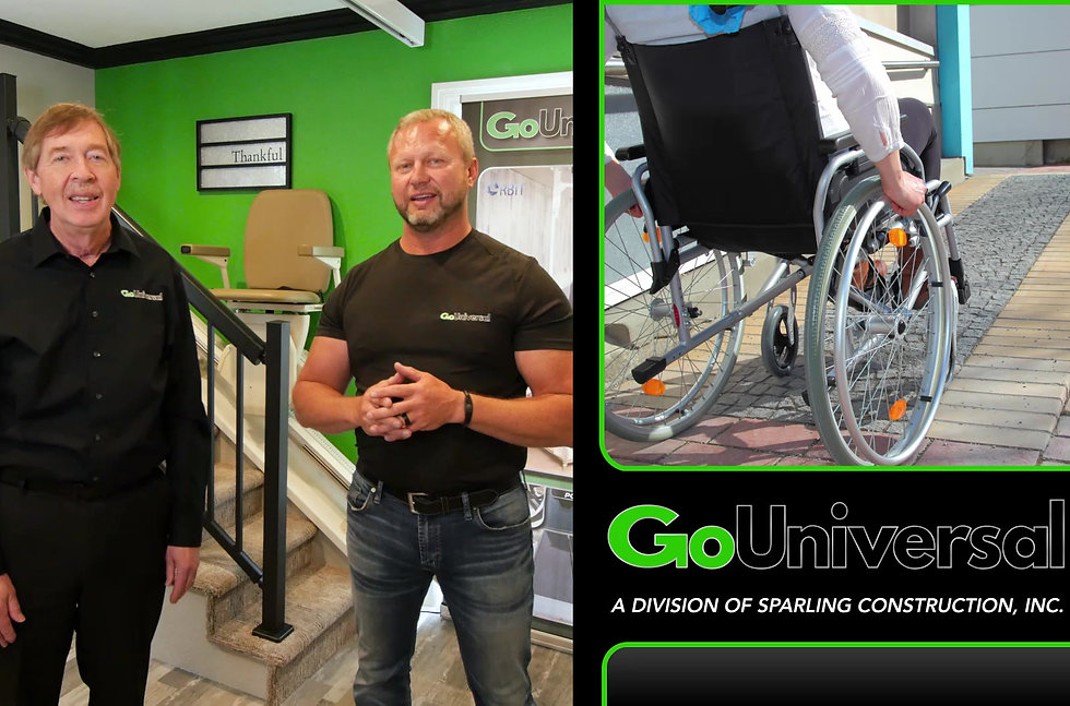 GoUniversal Commercial (Accessibility, Aging-in-Place, & Mobility Equipment)
