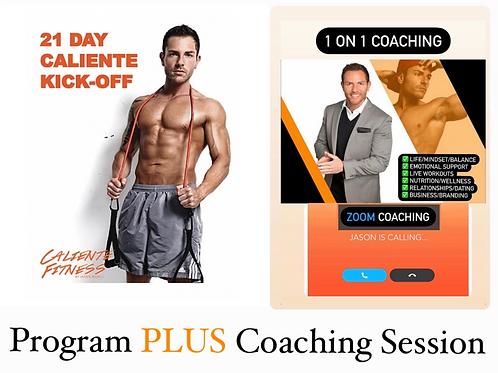 21 Day Plan+ 1 Coaching session