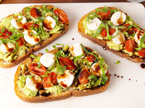 Hummus Avocado Toast Recipe