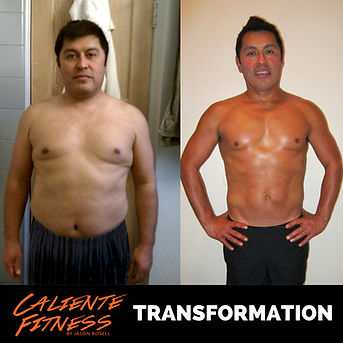 Los angeles personal trainer, online fat loss program, celebrity trainer caliente fitness