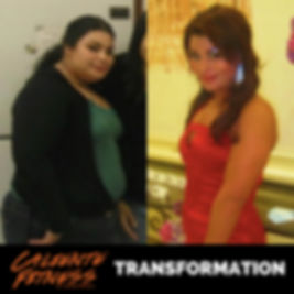 Caliente Fitness client results