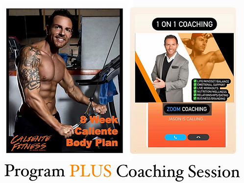 8 WEEK Plan + 1 Coaching session