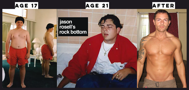 JASON ROSELL BEFORE AND AFTER WEIGHTLOSS