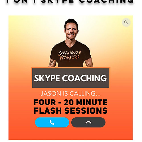 Four (20 Minute) Flash Coaching Sessions