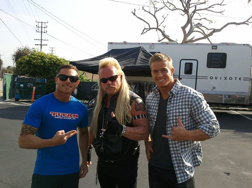 Jason and the dog bounty hunter
