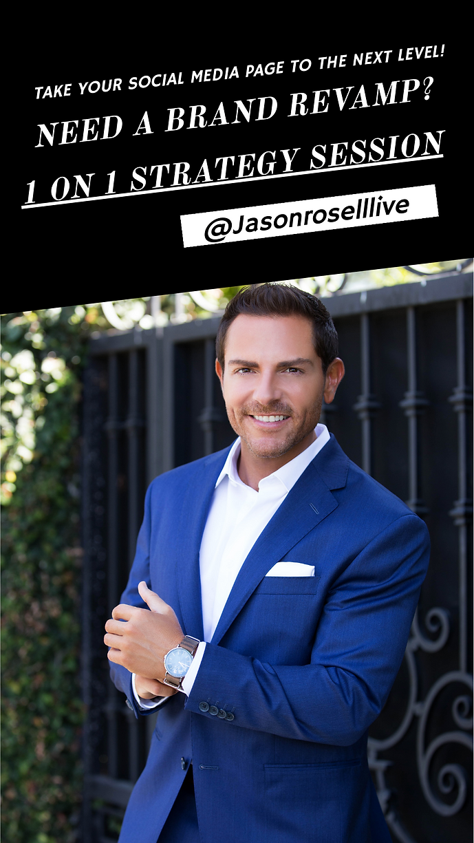 1 on 1 social media marketing and social media coaching with Jason Rosell