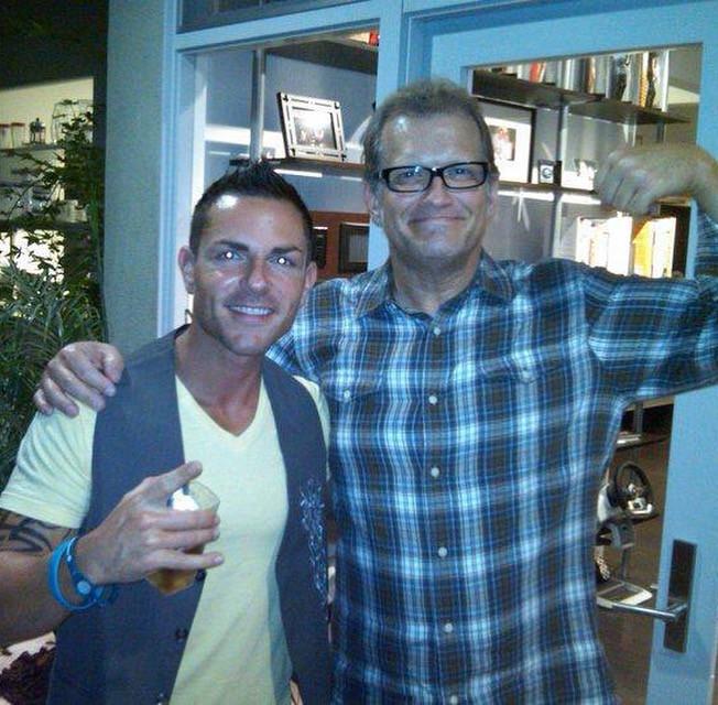 Jason and Drew Carey
