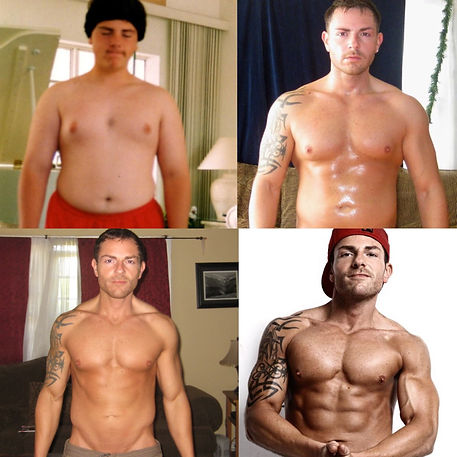 Jason Rosell Fat to fit transformation
