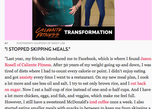 Over 50 weight loss & life success! Women's Health Special