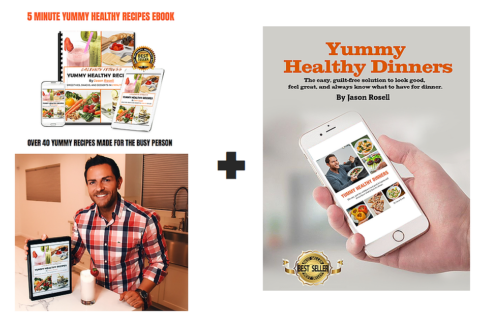 Healthy Recipe books by author Jason Rosell