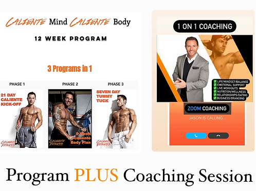 12 week Program + 1 Coaching Session