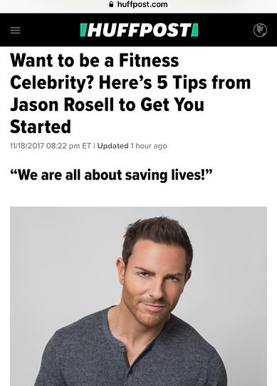 Jason Rosell founder of Caliente Fitness