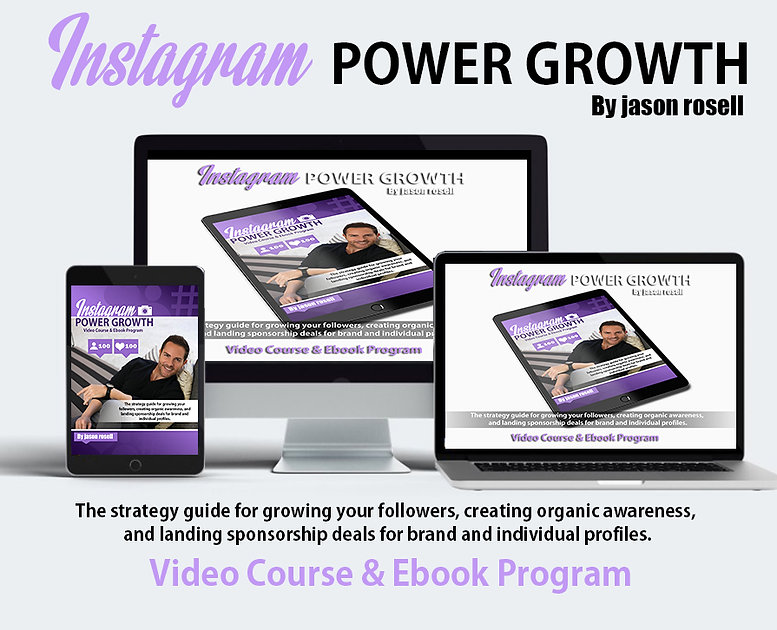 instagram power growth by jason rosell.j