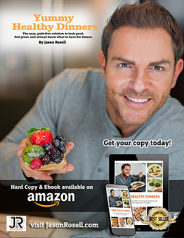 Yummy Healthy Dinners Flyer 5 w cover.jp