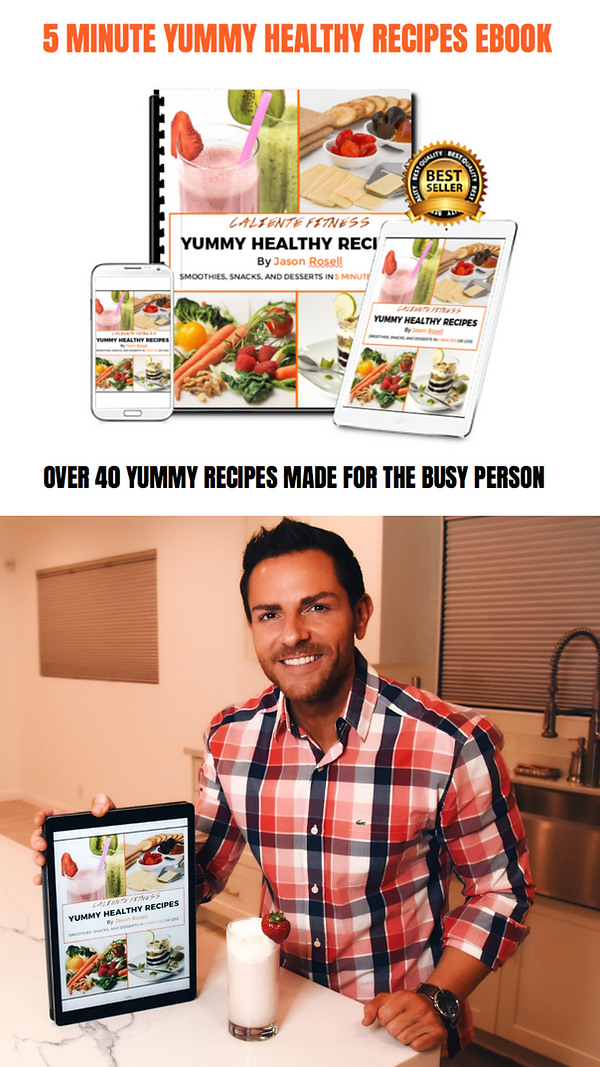 Yummy Healthy Recipes Jason Rosell