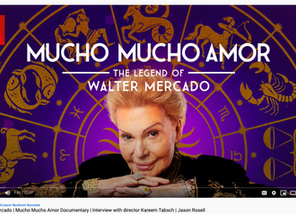 Mucho Mucho Amor | Walter Mercado Documentary | Interview with director Kareem Tabsch | Jason Rosell