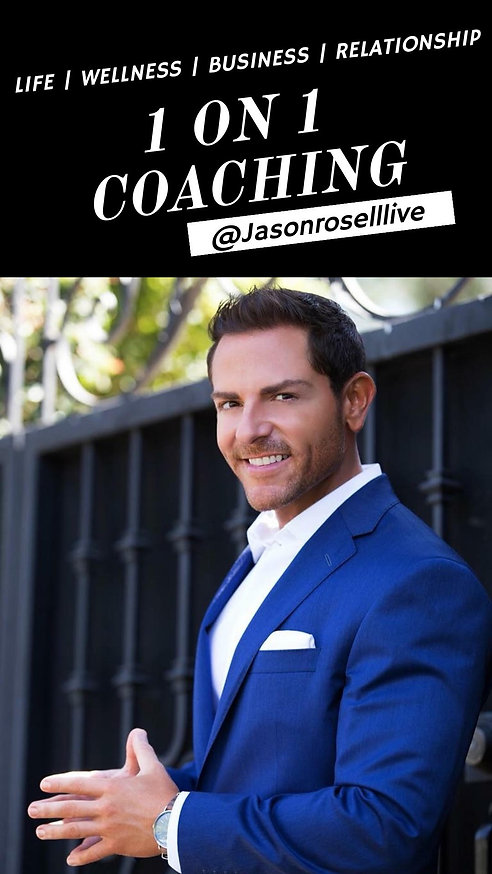 Jason Rosell Life Coach | Wellness Coach | Business Coach