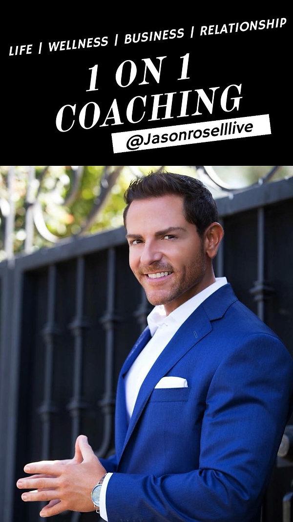 Jason Rosell Life Coach | Business Coach | Relationship Coach | Wellness coach