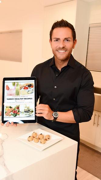 Jason Rosell Yummy Healthy Recipes Book
