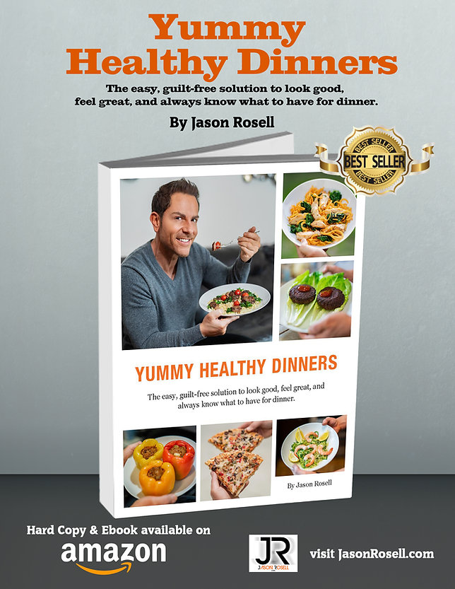 Yummy Healthy Dinners Recipe Book by Jas