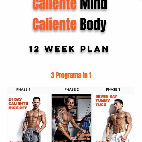 12 week Caliente Mind Caliente Body Plan