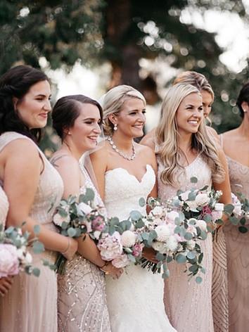 Bridal Makeup + Hair / Hannah , Attendants Hair / Alise