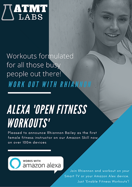 Rhiannon Bailey - Alexa Fitness Workouts