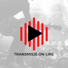 Transmisje on-line
