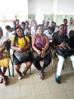Bo Community College Students