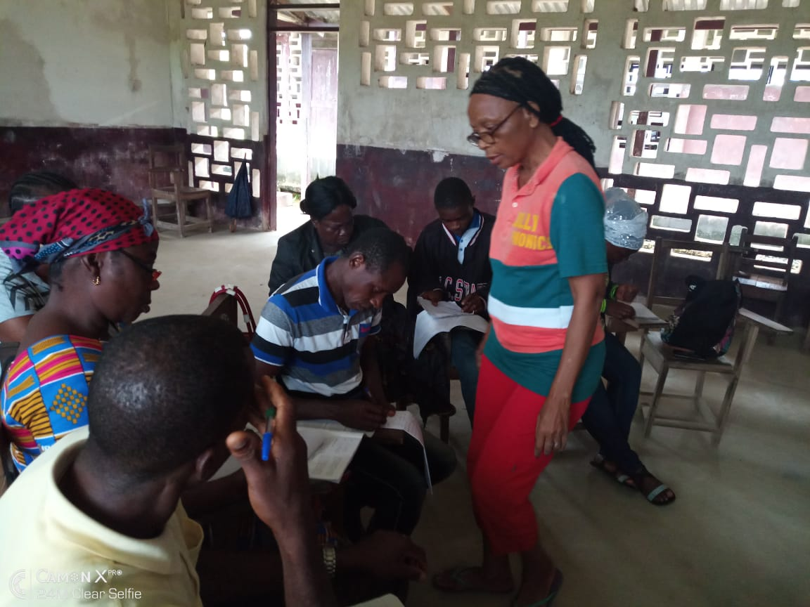 Group learning in Liberia