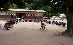 Participants Practicising Letter Formati