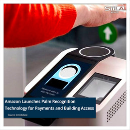 Amazon Launches Palm Recognition Technology for Payments and Building Access