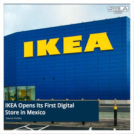 IKEA Opens Its First Digital Store in Mexico