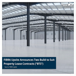 """FIBRA Upsite Announces Two Build to Suit Property Lease Contracts (""""BTS"""")"""