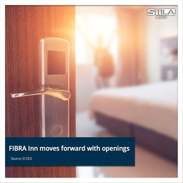 FIBRA Inn moves forward with openings despite a reduction in revenue and occupancy