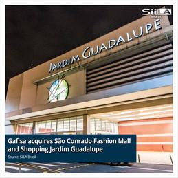 Gafisa acquires São Conrado Fashion Mall and Shopping Jardim Guadalupe