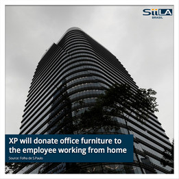 XP will donate office furniture to the employee working from home