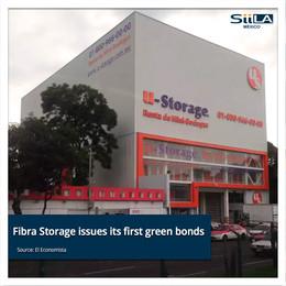Fibra Storage issues its first green bonds