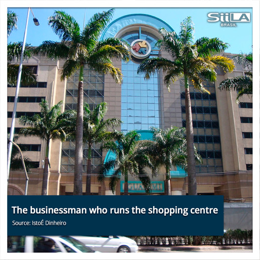 The businessman who runs the shopping ce