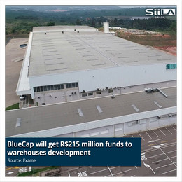 BlueCap will get R$215 million funds to warehouses development