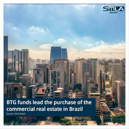 BTG funds lead the purchase of the commercial real estate in Brazil
