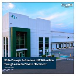 FIBRA Prologis Refinances US$370 Million through a Private Placement
