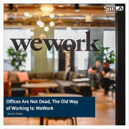 Offices Are Not Dead, The Old Way of Working Is: WeWork