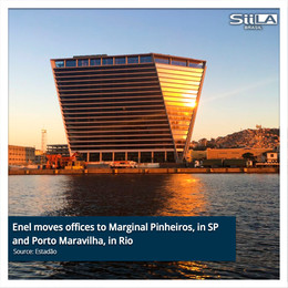 Enel moves offices to Marginal Pinheiros, in SP and Porto Maravilha, in Rio
