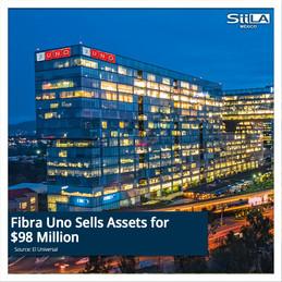 Fibra Uno Sells Assets for $98 Million