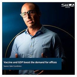 Vaccine and GDP boost the demand for offices